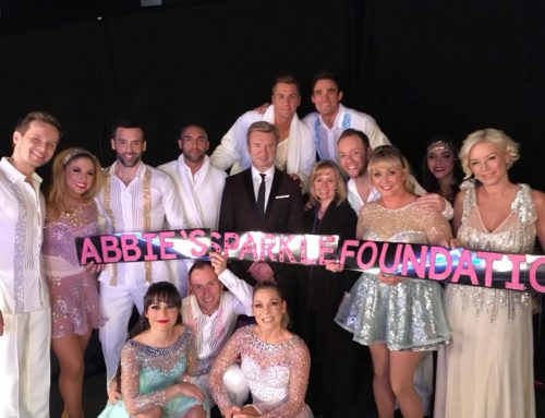 Dancing on Ice Tour supports Abbie's Sparkle Foundation