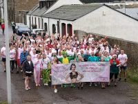 Burghead Boxing Day Swim donation to Abbies Sparkle