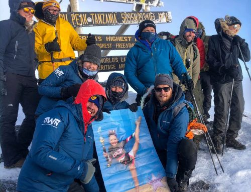 Team Kilimanjaro reach the summit ….