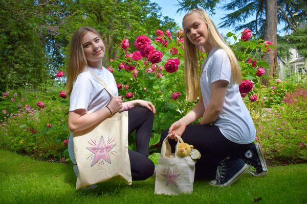 Abbies Sparkle Cotton bags