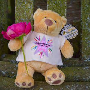Abbies Sparkle Minnie bear