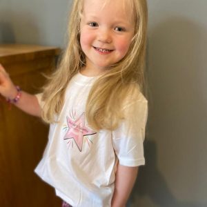 Abbies Sparkle Child's Cotton Tshirt